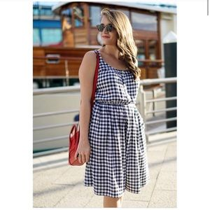 Madison Jules Gingham Dress w Pockets❗️